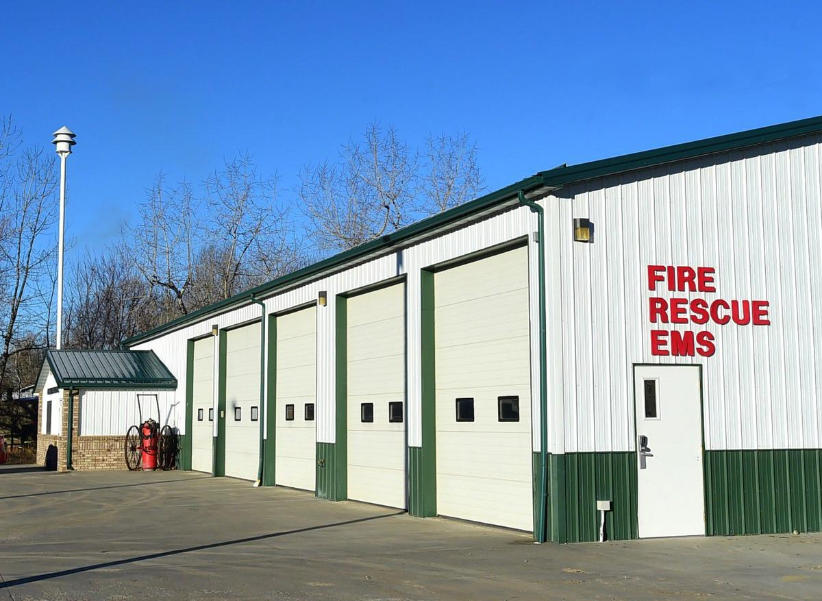 Absarokee fire and ambulance building