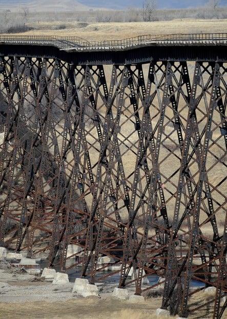 Central Montana Railroad trestle troubles