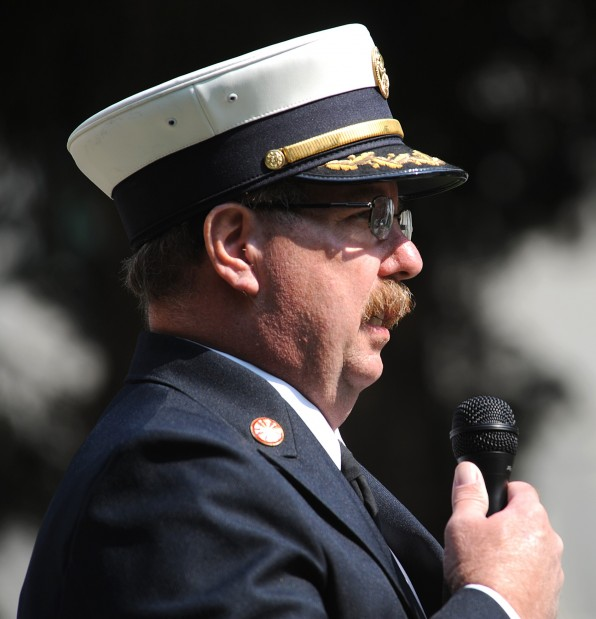 Billings Fire Chief Paul Dextras