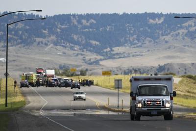Motorcycle and vehicle collide on Highway 3