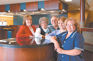 Making progress: Credit union settles in on West End