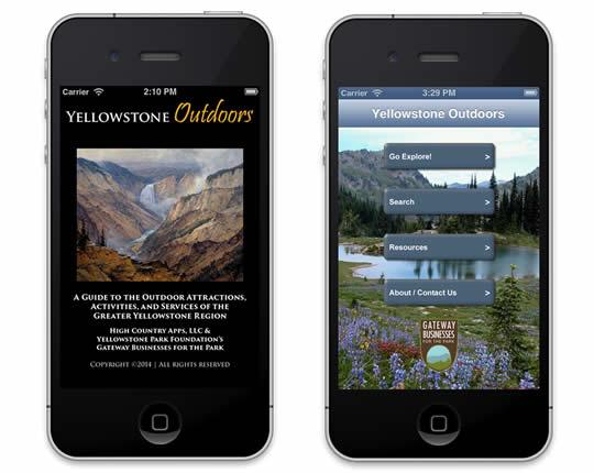 Yellowstone Outdoors app