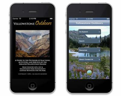 Yellowstone Outdoors app