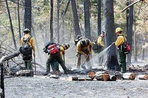 Progress continues on July Fire containment