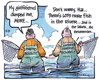 Outdoors just for kids: Spring's busy time of year for fisheries biologists