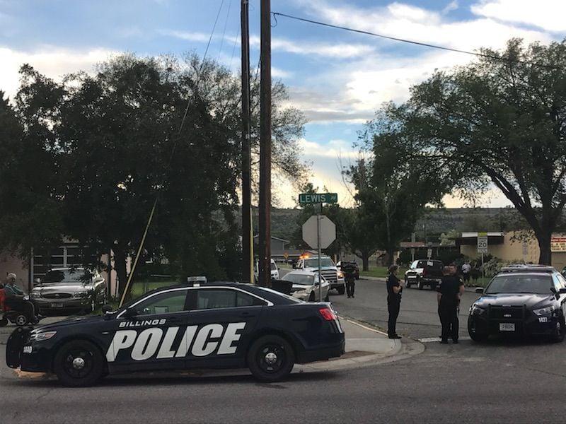 Crash near Burlington Elementary School
