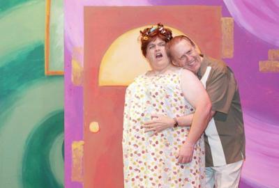 """Hairspray"" parents Edna and Wilbur Turnblad"