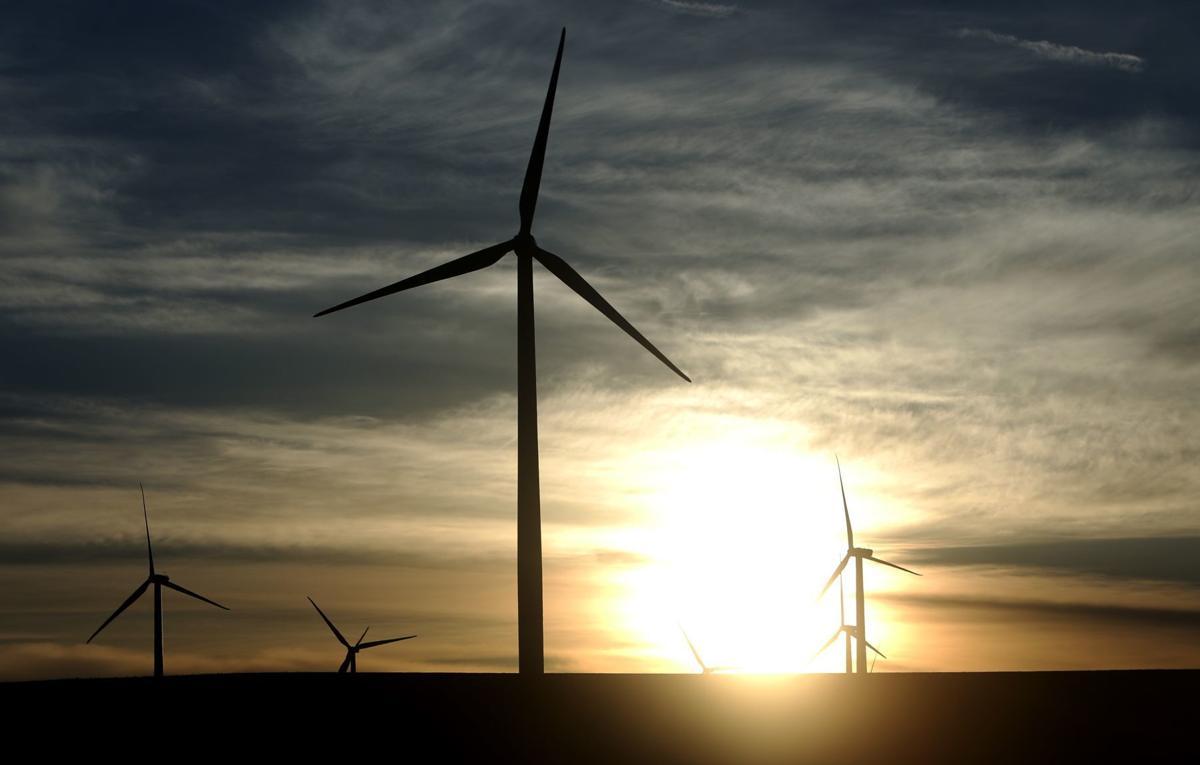The Judith Gap Wind Farm