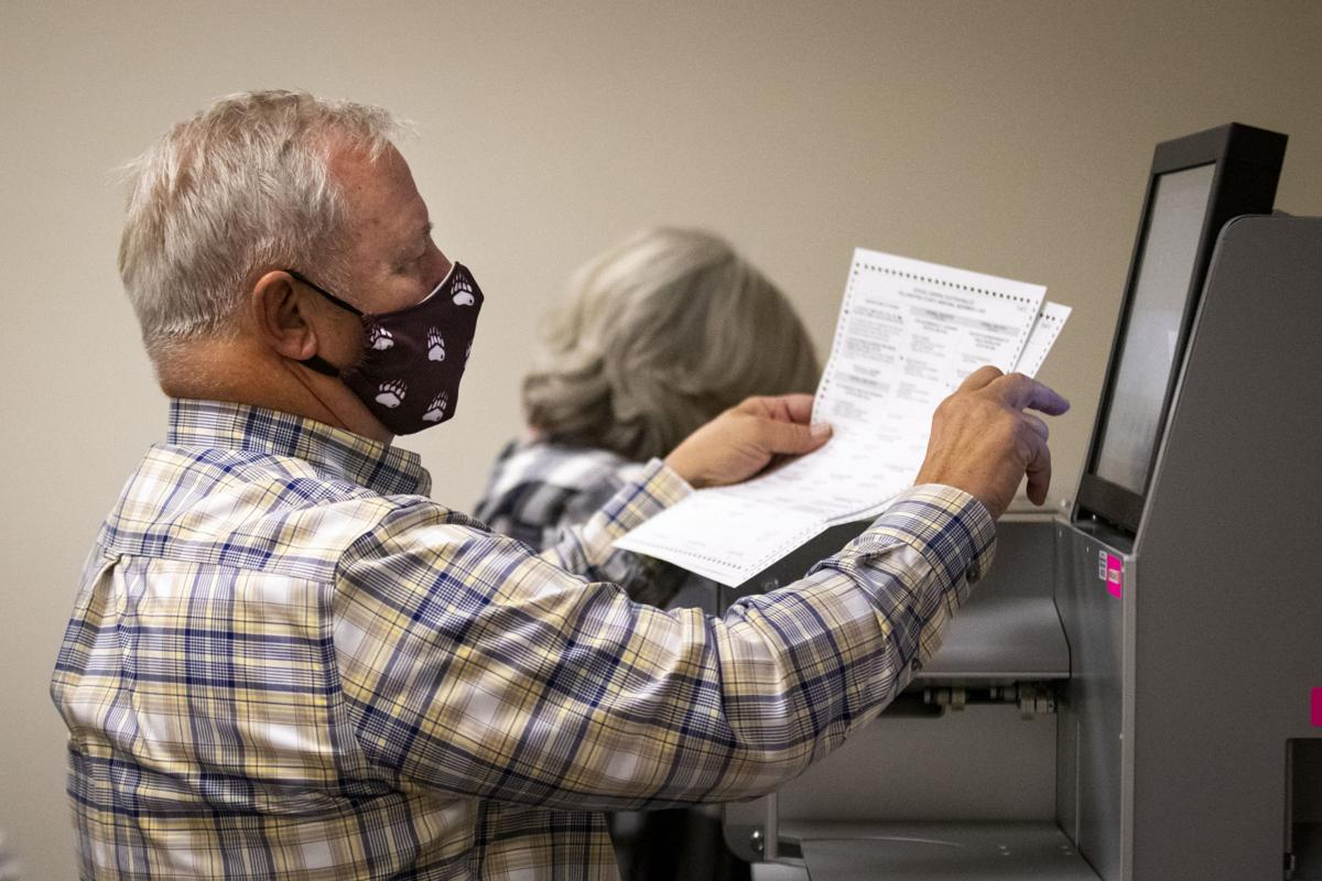 Ballot counting in Yellowstone County