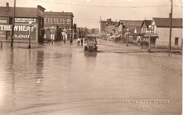 East Main St. flooding