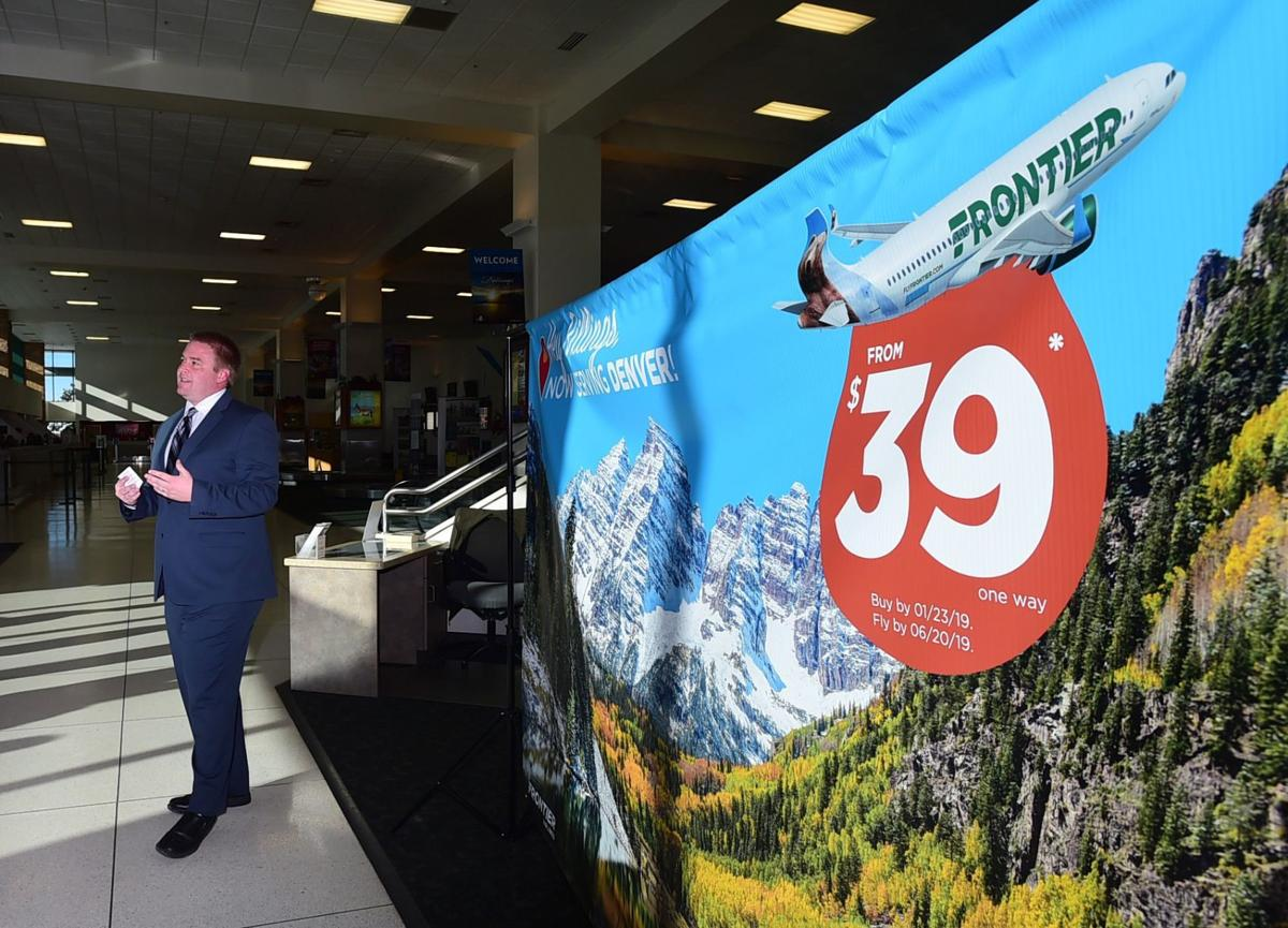 Frontier Airlines returning to Billings, will resume flights
