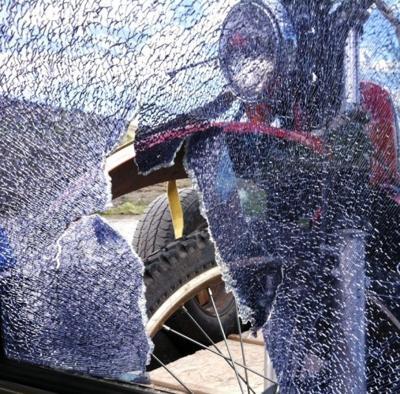 Motorcycle damage