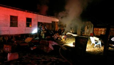 Lockwood fire involves trailer, transformer
