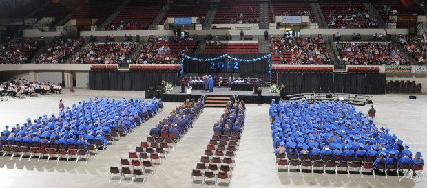 The 25th Skyview High School commencement ceremony at Rimrock Au