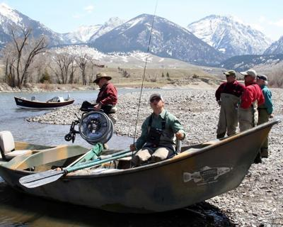 Warriors on Yellowstone River