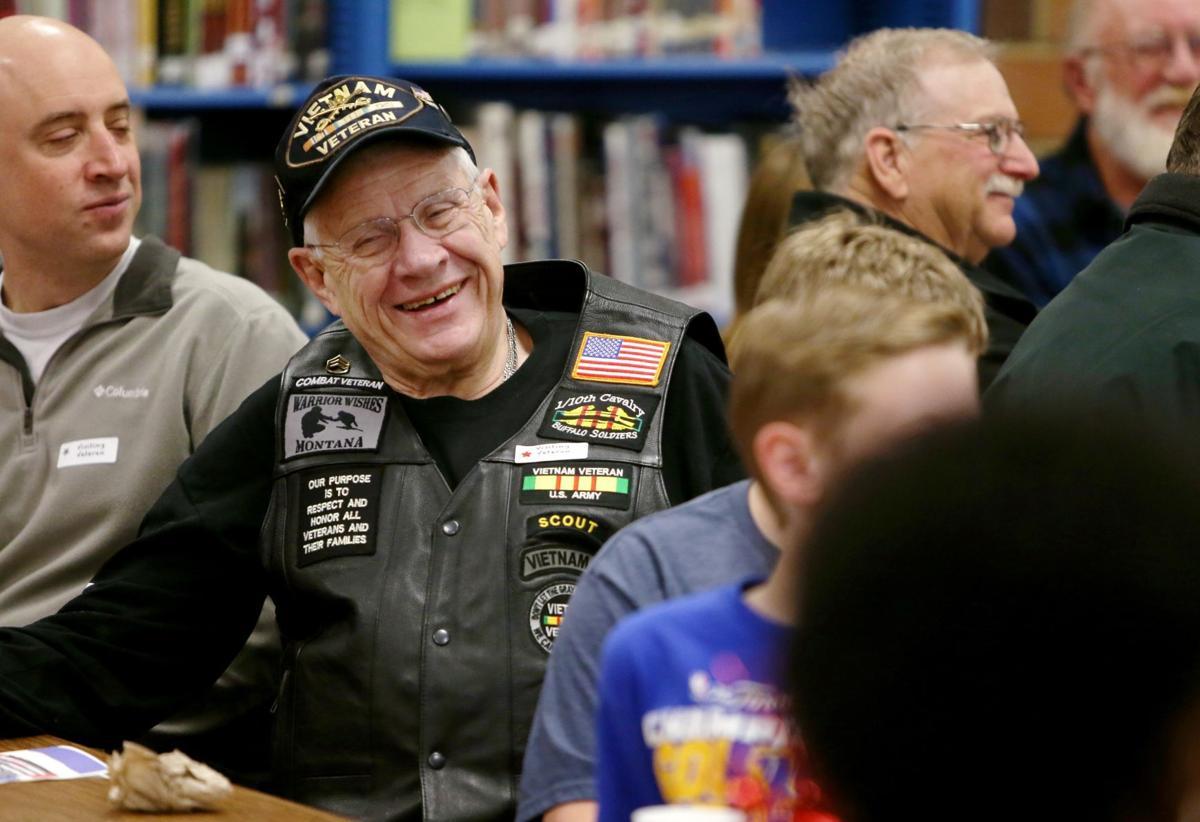 Vietnam veteran Peter Herzog