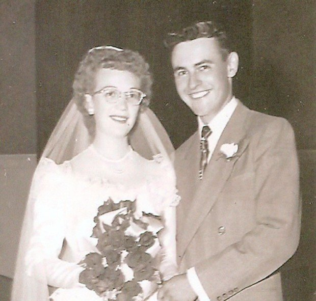 Elaine and Gordon Swartz in 1952