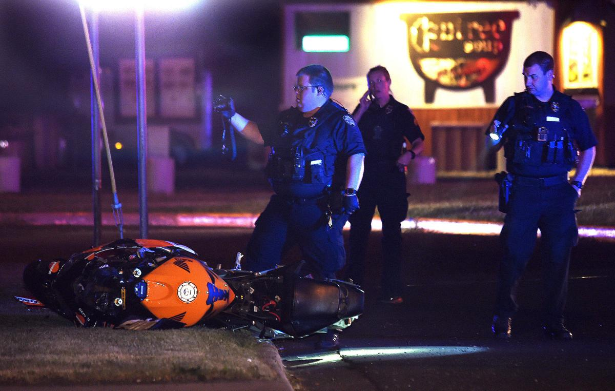 Division Street motorcycle crash