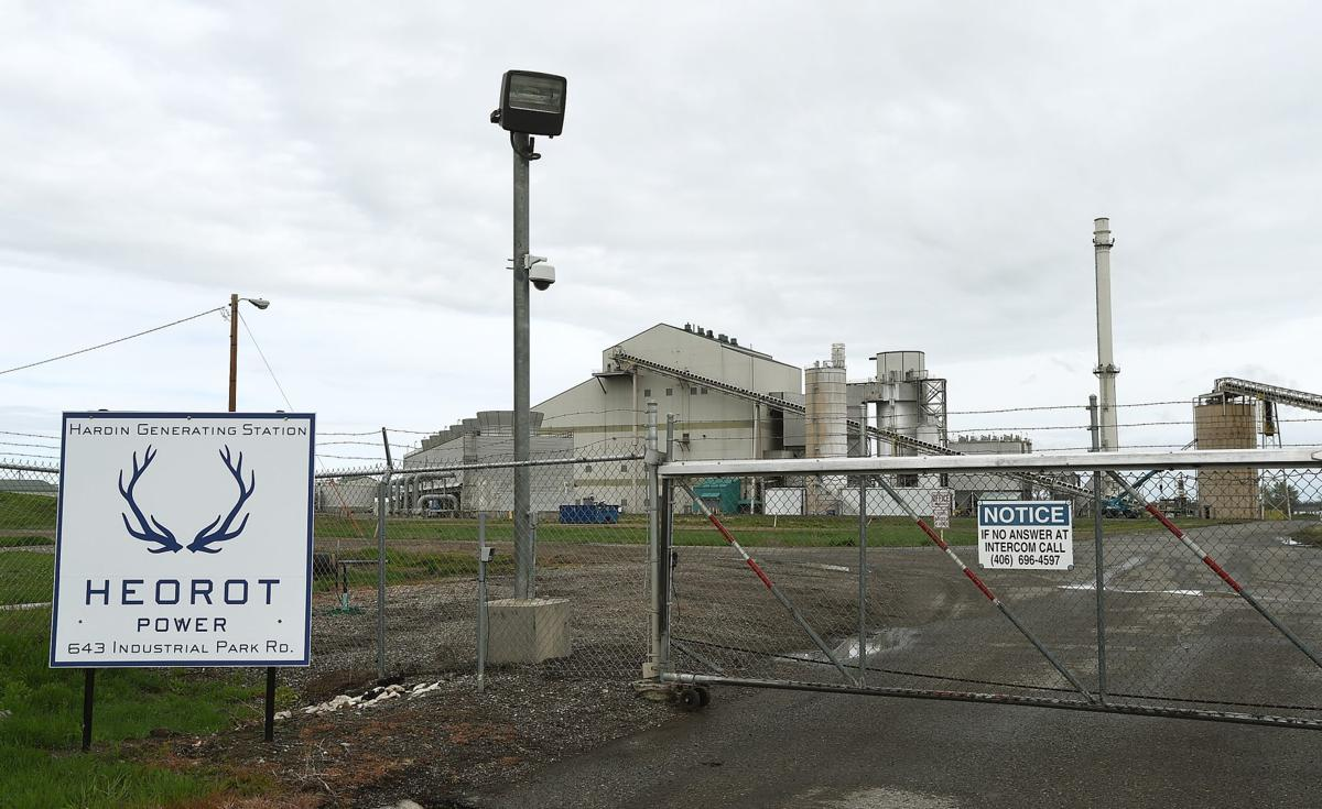 Hardin power plant