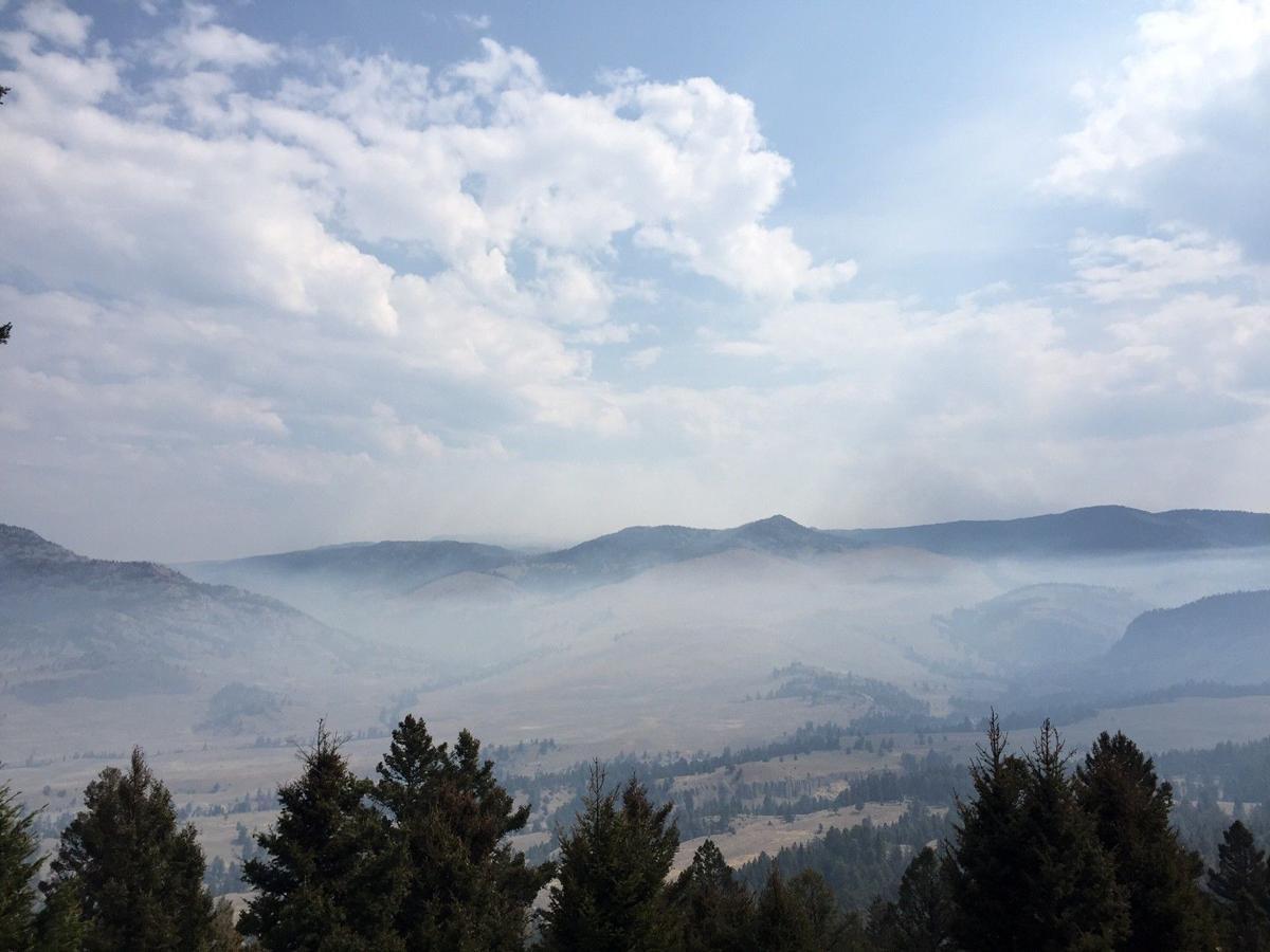 Smoke near Tower Junction