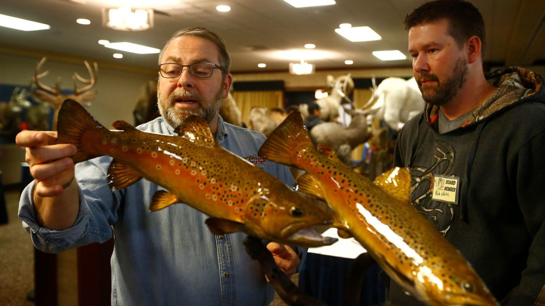 A menagerie of animals take over Billings at state taxidermy convention
