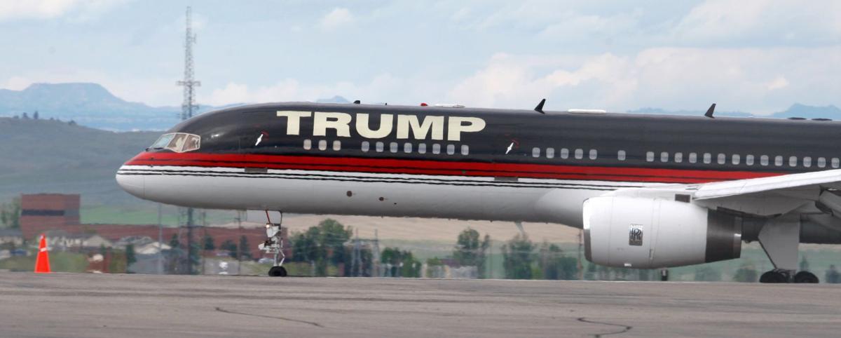 Donald Trump's jet