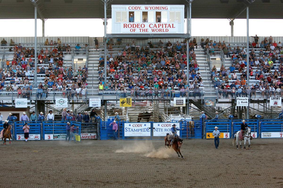Cody Nite Rodeo grandstand