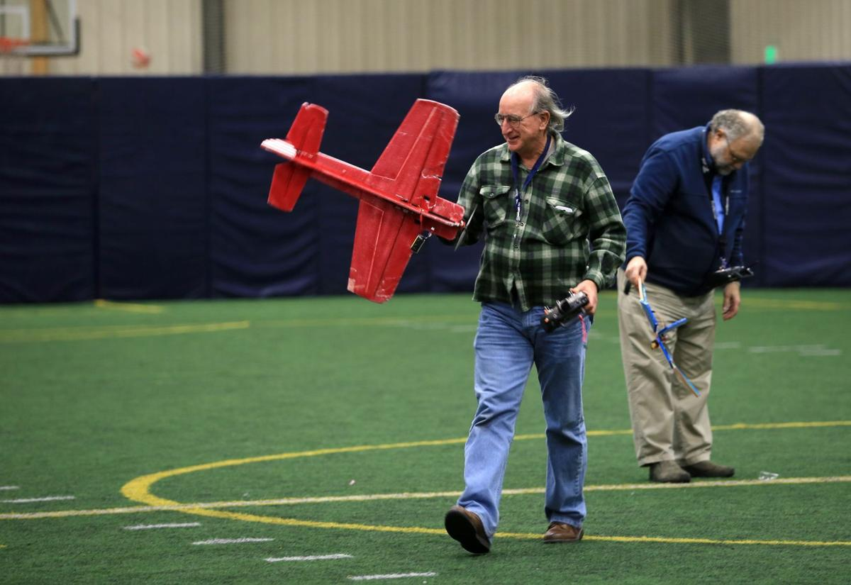 RC aircraft take off indoors as temps fall in Billings | Local