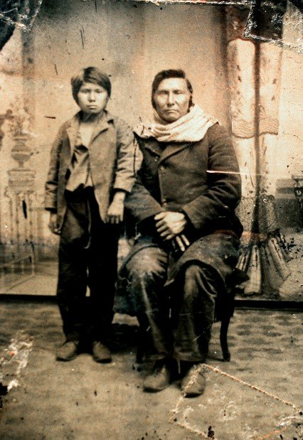 Portrait of Nez Perce Chief Joseph