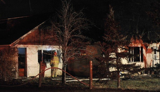 House fire at 4344 Highway 312