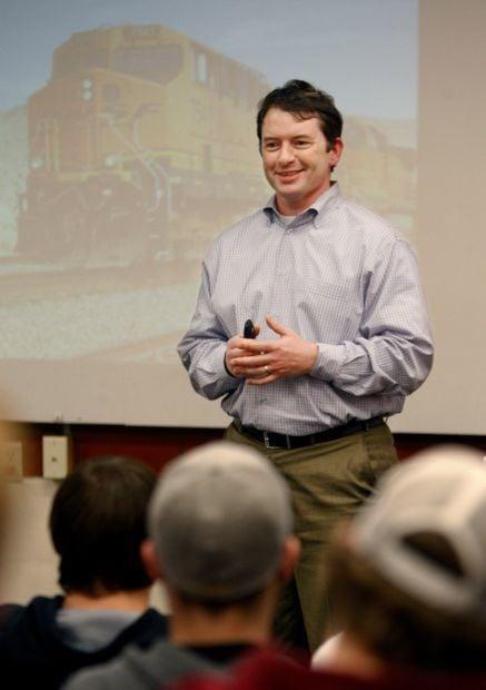 Andrew Shelton of Burlington Northern Santa Fe