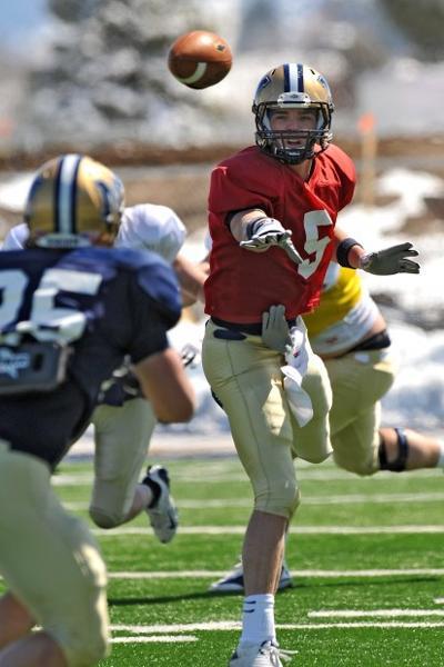 Montana State quarterback Grayson Galloway