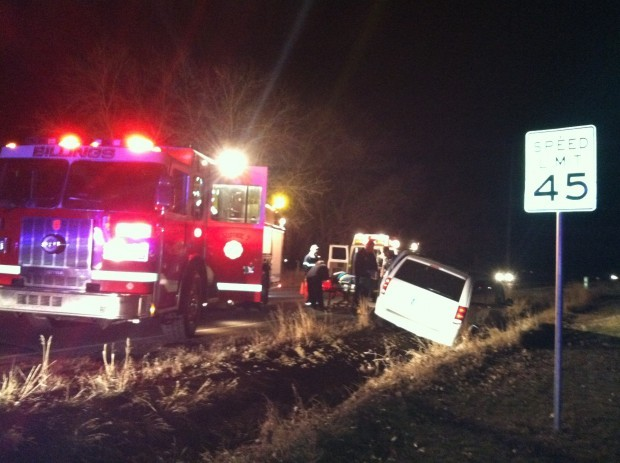 Wednesday night crash