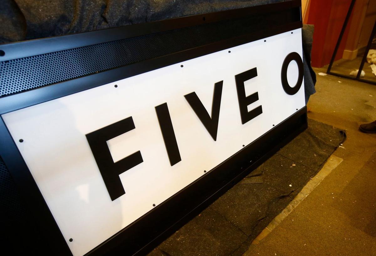 Five on Black