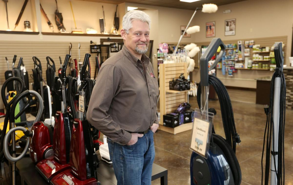 Tom Berkshire of Stuart's House of Vacuums
