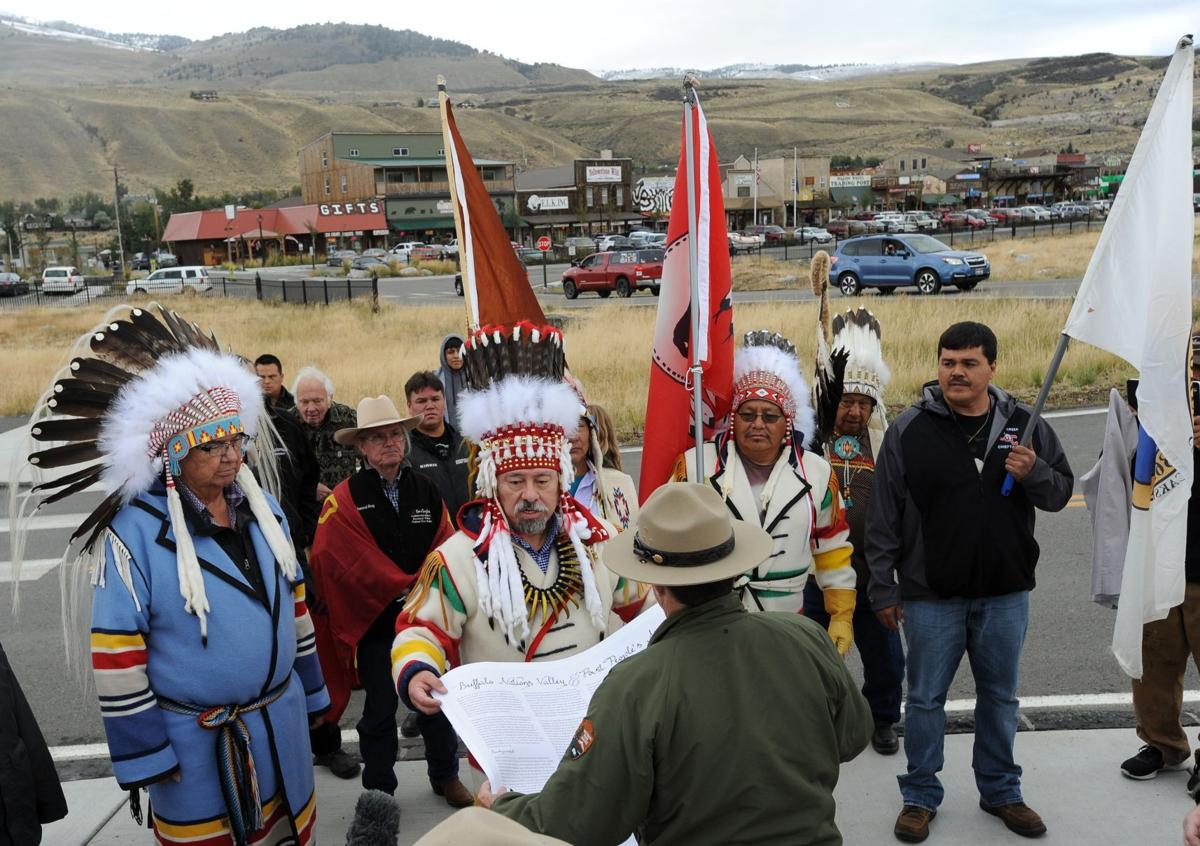 Yellowstone protest