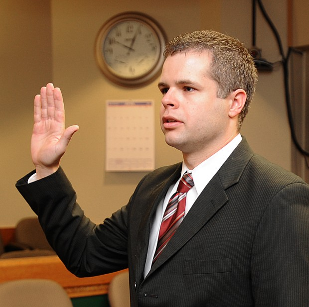 David Firebaugh is a new officer with the Billings Police Department