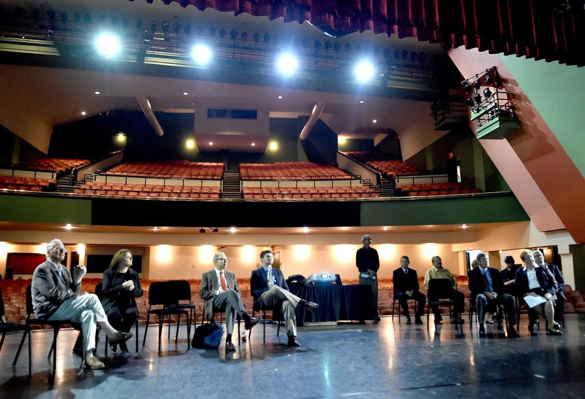 City council visits the Alberta Bair Theater