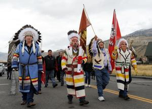Tribes gather in Yellowstone to advocate for changing names of mountain, valley