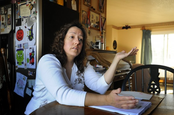 Susan Cochran discusses the foreclosure of her Billings Heights home
