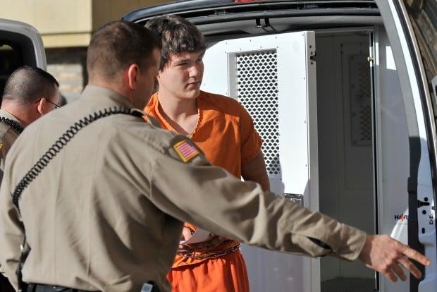 Tanner Vanpelt, a suspect in a triple homicide