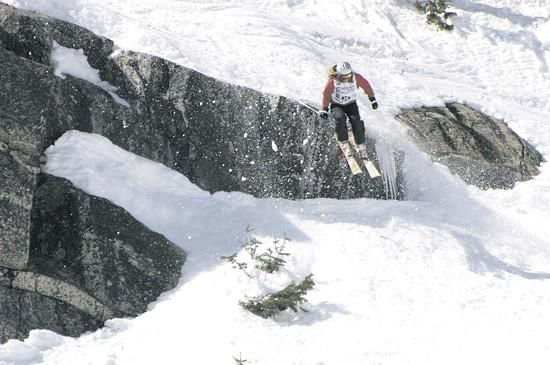 Pro skier hungry for Freeride tour win