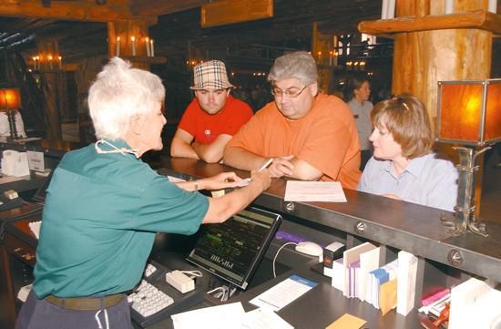 Old Faithful Inn opens for business