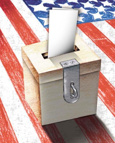 America votes illustration