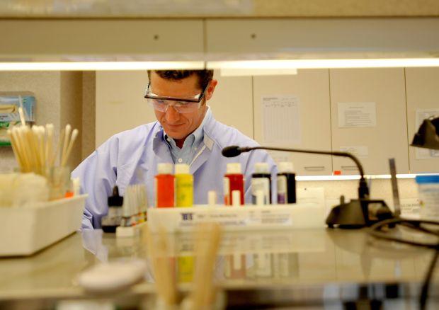Pathologist Dr. Michael Brown