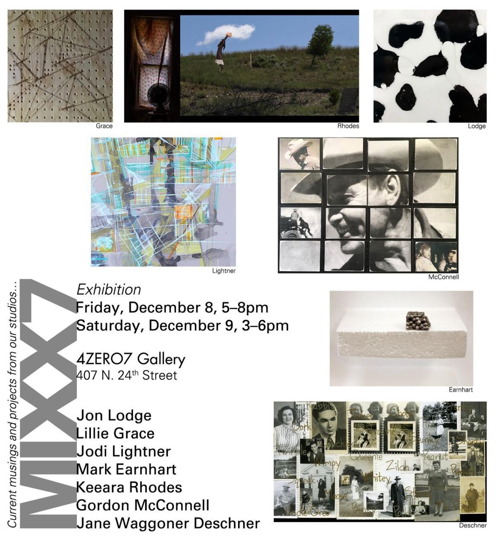 'MIXX7: Seven Artists' Recent Work'