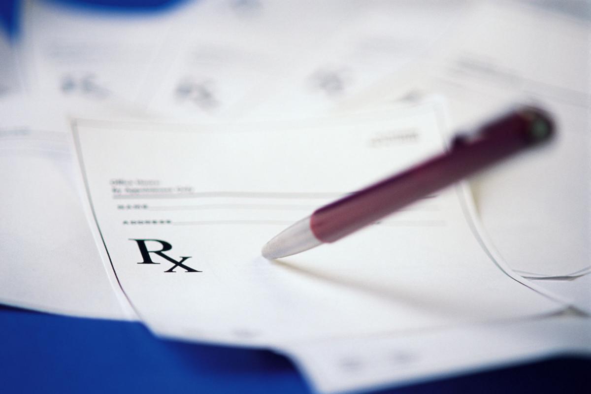 Pen and prescription pad
