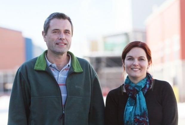 Dr. Heinz Feldmann and Andrea Marzi