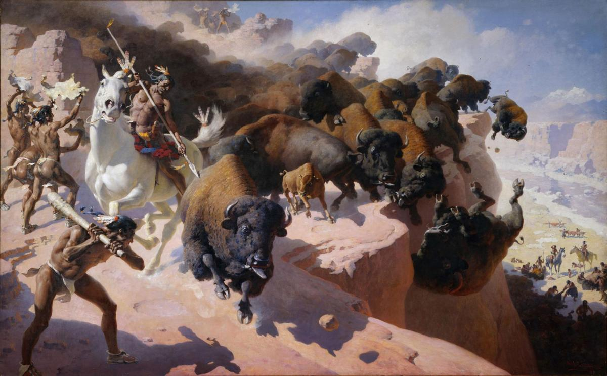 Highest Bison Jump In North America Topic Of Cody Talk