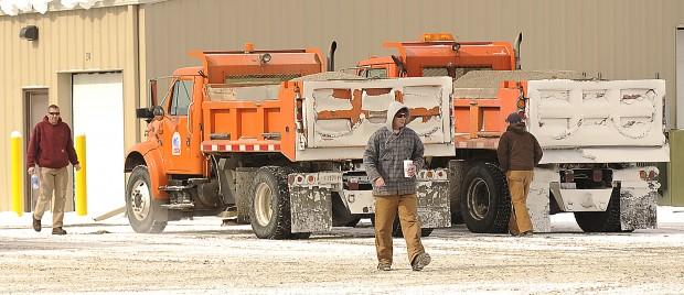 Sanding trucks